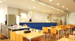 諫早市役所食堂