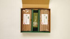 えごま油+えごま蕎麦250g袋(イメージ)