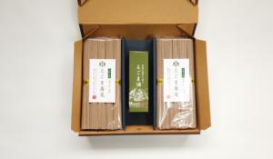 Bセット:えごま油×1+えごま蕎麦250g袋×4