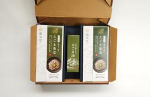 Aセット:えごま油×1+えごま蕎麦250gギフト箱×4