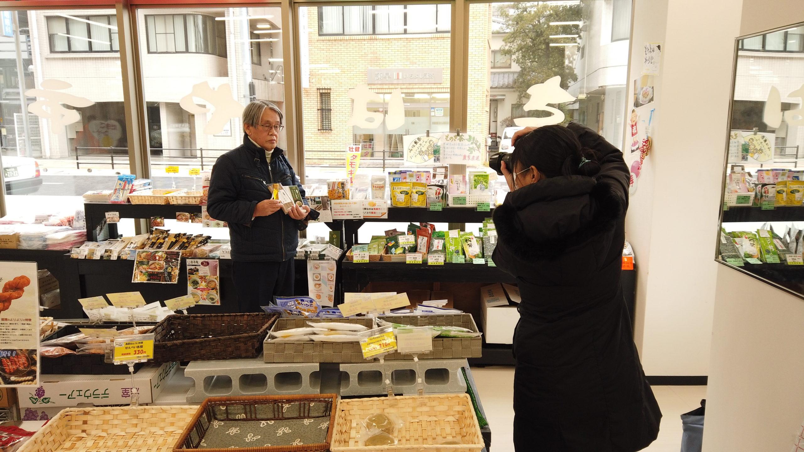 えごま油・えごま蕎麦新発売について長崎新聞社様より取材がありました(2021年1月7日)